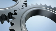Gears machine - seamless loopable cg animation 2 Stock Footage
