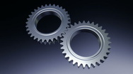 Spinning Gears - loopable cg animation 1  Stock Footage