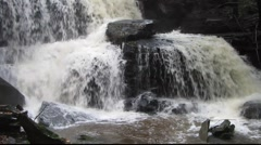 Forest Waterfall 3 Stock Footage