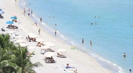Stock Video Footage of beach closer