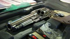 Pistol02 - stock footage