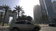 Stock Video Footage of The City Centre Of Dubai