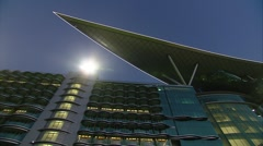 Meydan Horse Racing Stadium - Dubai Stock Footage