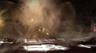 Space Orbital Platform Explodes Stock Footage