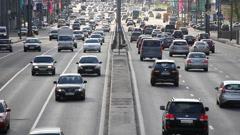 highway - stock footage
