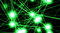 Shine star laser energy space,ray light particle,dot point nightclub stage. Stock Footage