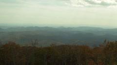 Blue Ridge Mountains Time Lapse Stock Footage