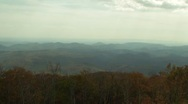 Stock Video Footage of Blue Ridge Mountains Time Lapse