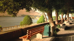 Park at the River Nile Stock Footage