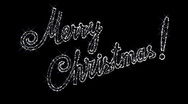 "Stock Video Footage of Sparkling inscription ""Merry Christmas"""