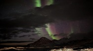 Northern lights - magnetic storm Stock Footage
