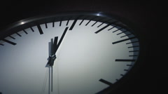 Clock - stock footage