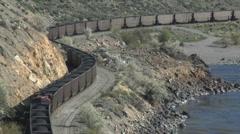 Coal Train 1 Stock Footage