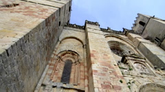 Cathedral, medieval building.  Stock Footage