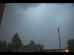 UFO Sighting in Tucson Az Stock Footage