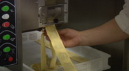 Stock Video Footage of Chef makes fresh Ravioli pasta