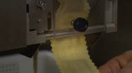 Stock Video Footage of Fresh Ravioli pasta machine