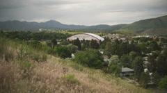 City of Pocatello, Idaho 4 Stock Footage