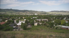 City of Pocatello Idaho 5 Stock Footage