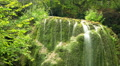 time lapse. waterfall silver stream in Crimea. HD Footage
