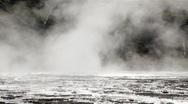 Crested Pool Geyser BigWeb Stock Footage