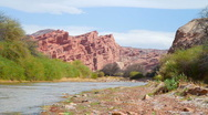 Stock Video Footage of Cafayate Gorge