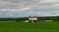 Rural Michigan Farms Stock Footage