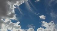 Cloud Sun Beams Time Lapse Stock Footage