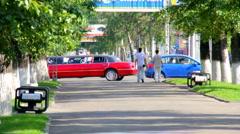 Boulevard Stock Footage