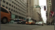 Stock Video Footage of NYC Street Scene
