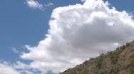 Evaporating clouds Timelapse Heavier Stock Footage