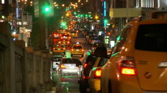 NYC Traffic Timelapse  - stock footage