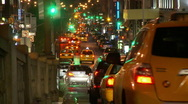 Stock Video Footage of NYC Traffic Timelapse