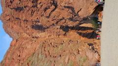 Cafayate Gorge - vertical Stock Footage