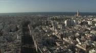 Casablanca Skyline Stock Footage