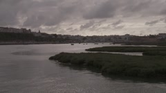 Tangier Coastline - stock footage