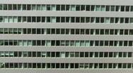 Time Lapse of Building Windows and shadows Stock Footage