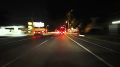 Time lapse of Driving in Urban City - 2 Stock Footage