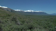 Mt. Borah Lost River Range 1 Stock Footage
