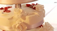Stock Video Footage of Wedding Cake