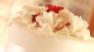 Wedding Cake Stock Footage