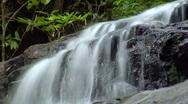 Time lapse thai waterfall up loop Stock Footage