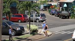 Kapaa ,kauai, hawaii,m Stock Footage