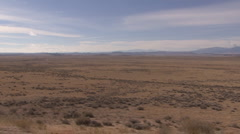 P01263 Driving Shot of Great Plains Sagebrush Flats Stock Footage