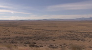 Stock Video Footage of P01263 Driving Shot of Great Plains Sagebrush Flats