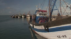 Stock Video Footage of Moroccan Fishing Boat