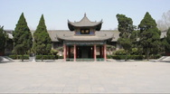 Stock Video Footage of Beilin Museum in xi'an  china