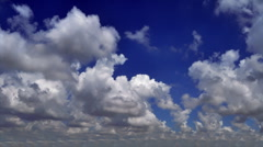 Summer clouds only Stock Footage
