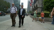 Busy NYC Crosswalk - Time Lapse - Clip 2 Stock Footage