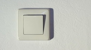 Power switch on off   Stock Footage